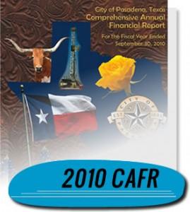 2010 CAFR