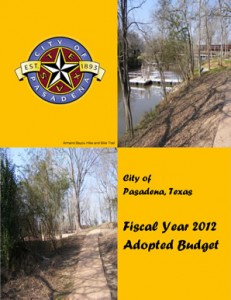 Adopted Budget 2012