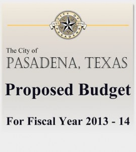 Proposed Budget 2013 - 2014