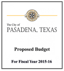 Proposed Budget 2015-16