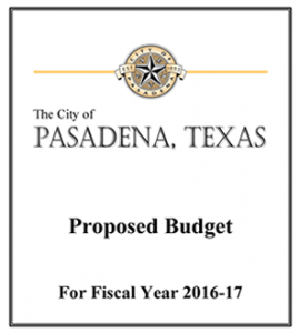 Proposed Budget 2016-17